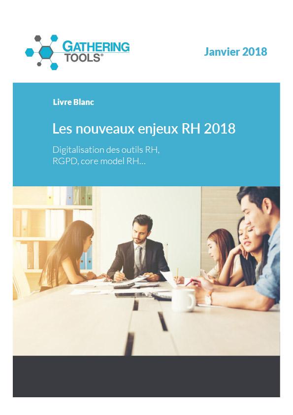 Livre blanc - Les nouveaux enjeux RH 2018