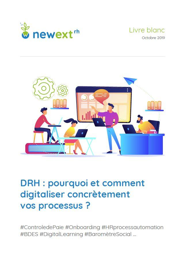 Livre Blanc - DRH : pourquoi et comment digitaliser concrètement vos processus ?